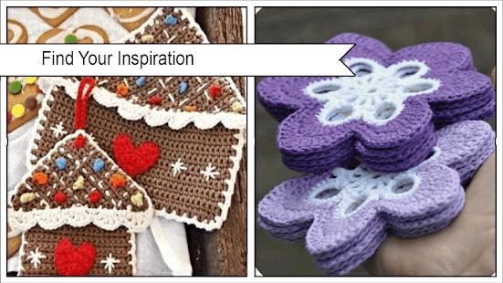 Adorable Crochet Potholder Patterns - náhled
