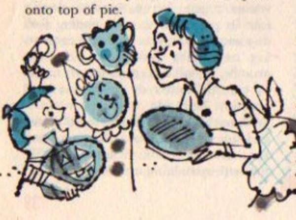 Pumpkin Cheese Pie (from 1958 Good Housekeeping) Recipe