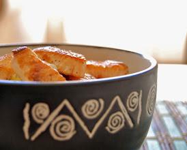 Photo: Ana del blog Piedra, papel o azúcar http://piedrapapeloazucarblog.blogspot.com.es/ Ensalada templada de salmón y patata http://piedrapapeloazucarblog.blogspot.com.es/2014/05/ensalada-templada-de-salmon-y-patata.html Nikon D40 Localidad: Madrid
