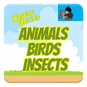 Learn Animals, Birds, Insects