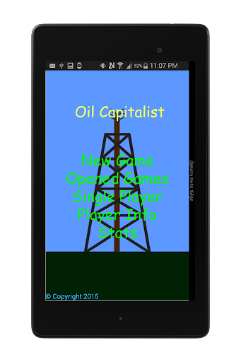 Oil Capitalist Free