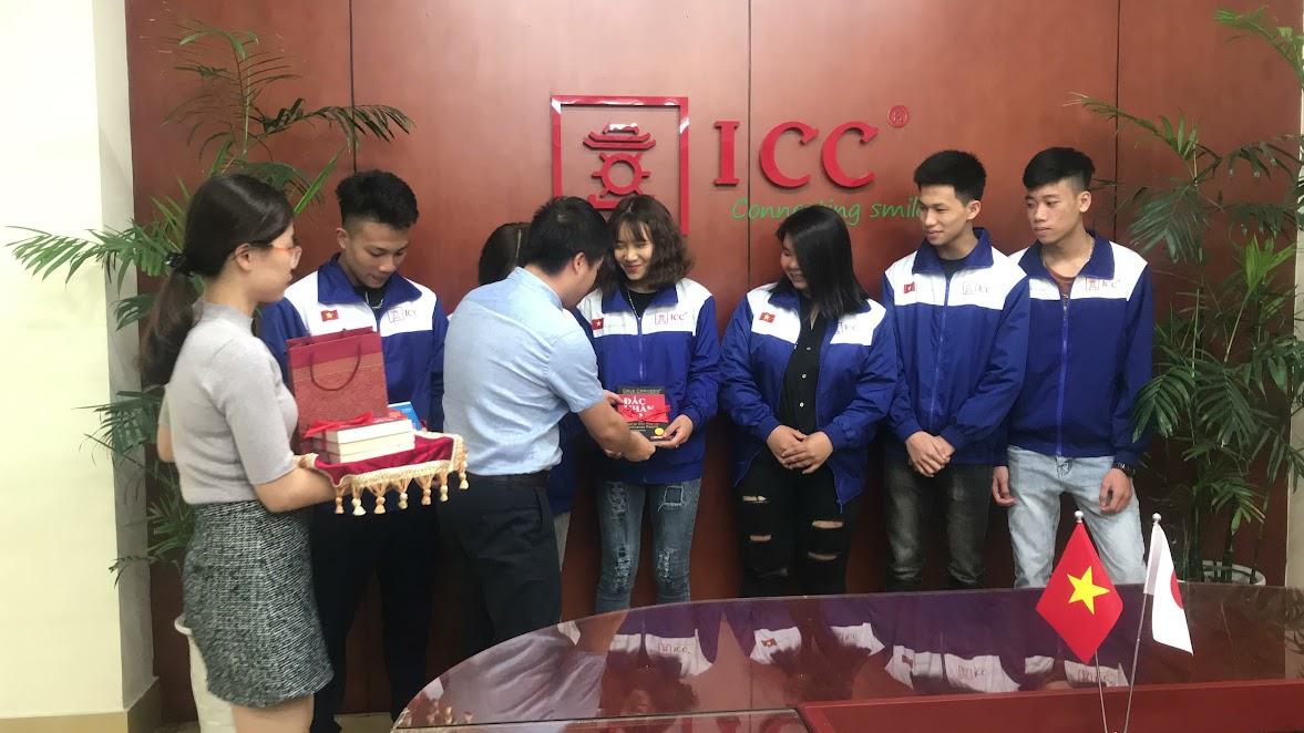 ICC Hà Nội tiễn chân đoàn Du học sinh Nhật Bản trường Shinwa kỳ T4/2018