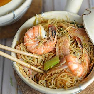 Thai Shrimp and Glass Noodles.