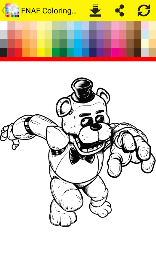Coloring Book Five Nights Android Apps on Google Play