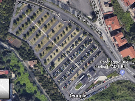 parcheggio Due Obelischi