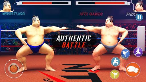 wrestling games sumo fighting 3d free game 1.0 screenshots 1