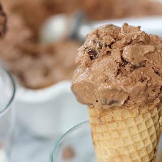Dairy-Free Chocolate Coconut Almond Ice Cream