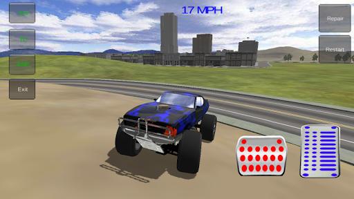 玩賽車遊戲App|怪物特技车免費|APP試玩
