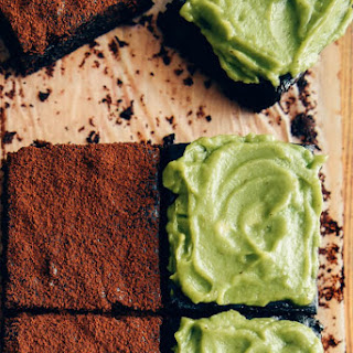 Healthier Avocado Brownies.