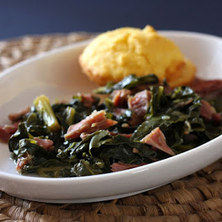 Southern Turnip Greens with Ham Shanks.