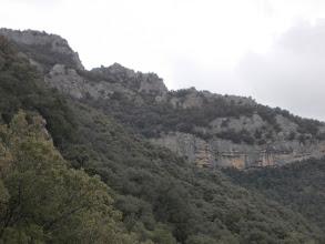 Photo: Puig de la Fillola depuis le Grau de la Paradella
