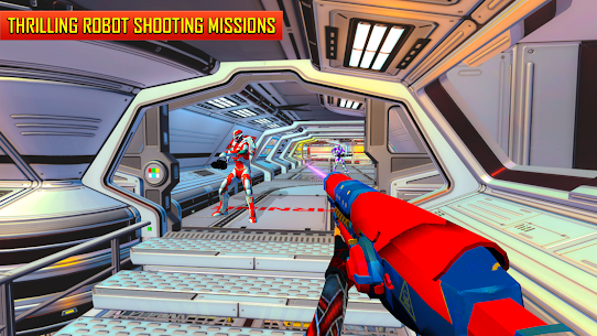 Robot Shooting FPS Counter War Terrorists Shooter 5