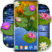 Water Lily Live Wallpaper \ud83c\udf3a Flowers Wallpapers