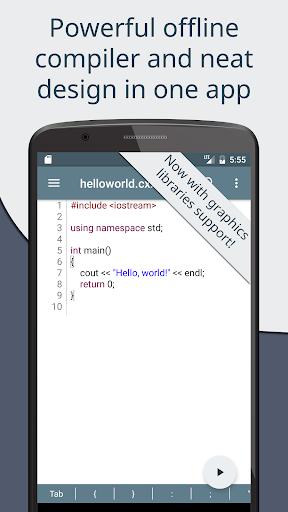 Cxxdroid - C++ compiler IDE for mobile development Apk 1