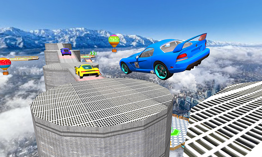 Us Extreme GT Mega Ramps Crazy Car Stunts Racing  captures d'écran 1