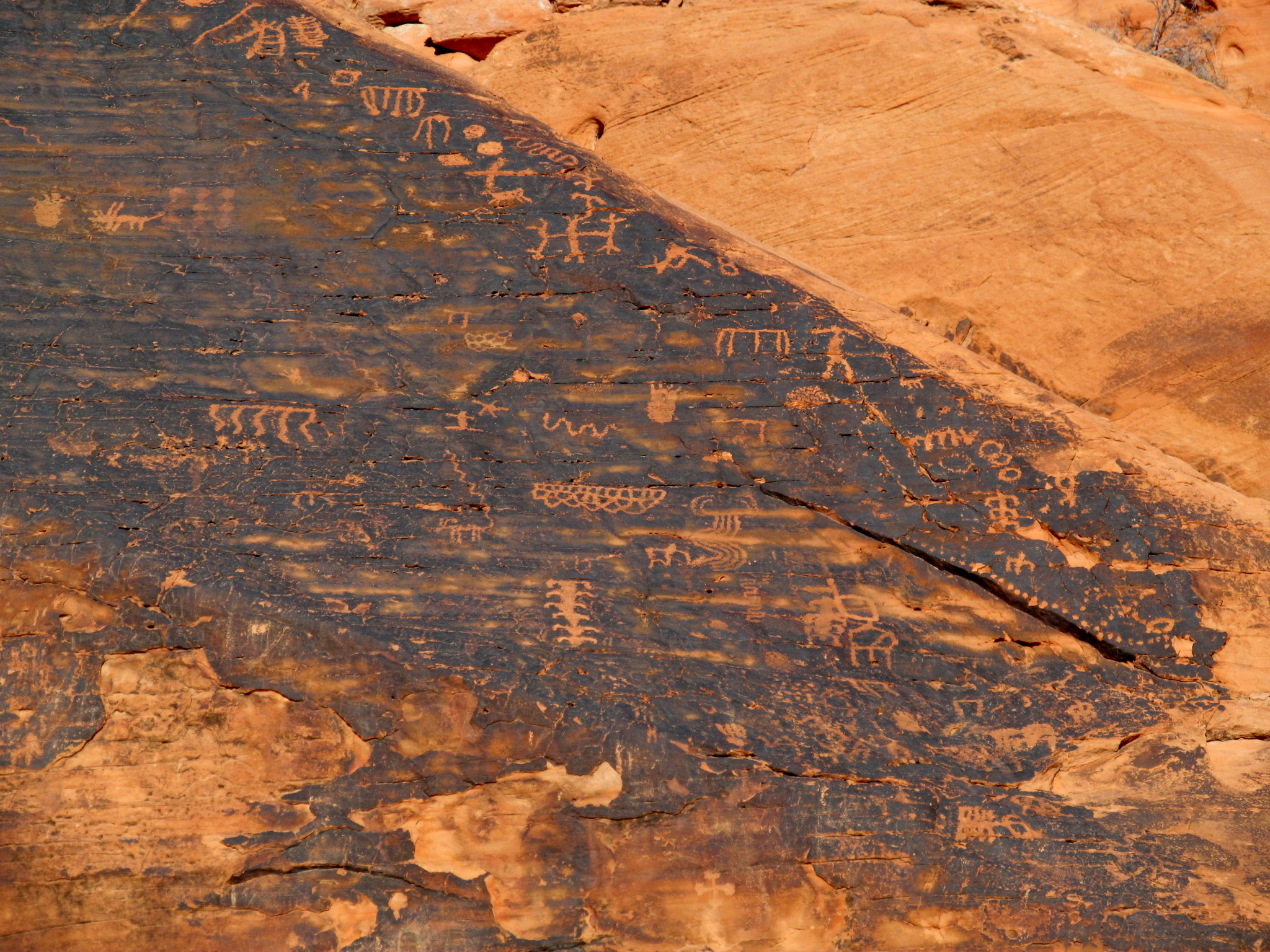 Photo: Mouse's Tank petroglyphs