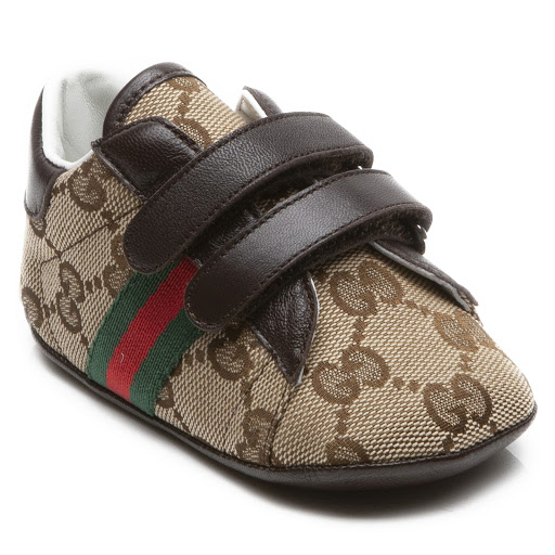 Thumbnail images of Gucci GG Pre-Walker Trainers