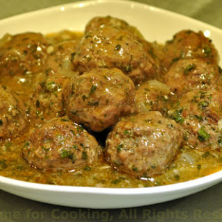 Meatballs with Preserved Lemon Tagine.
