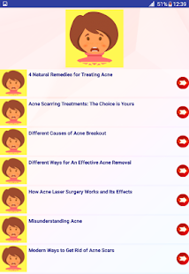 Acne treatment and remedies - náhled