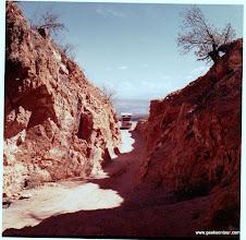 Photo: An opal mine near Queretero Mexico.