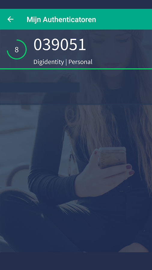 Digidentity: screenshot