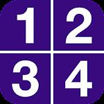 1-2-3-4 Icon