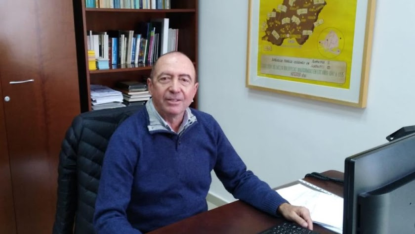José Castillo es el nuevo director de la Biblioteca Villaespesa.