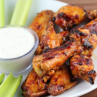Honey Hot Wings.