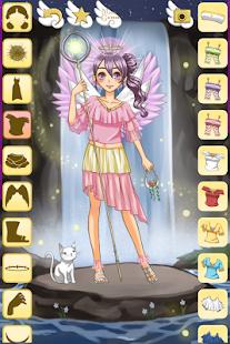 Oblíkací hry - Anime anděl - náhled