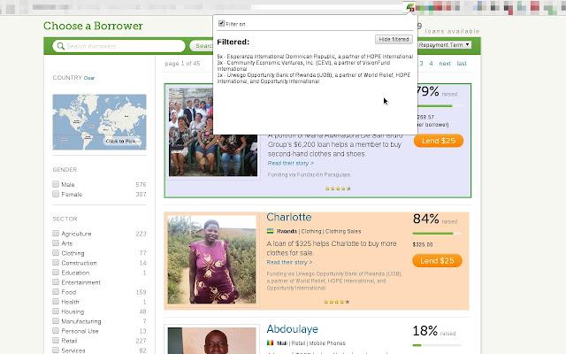 MFI Filter for Kiva