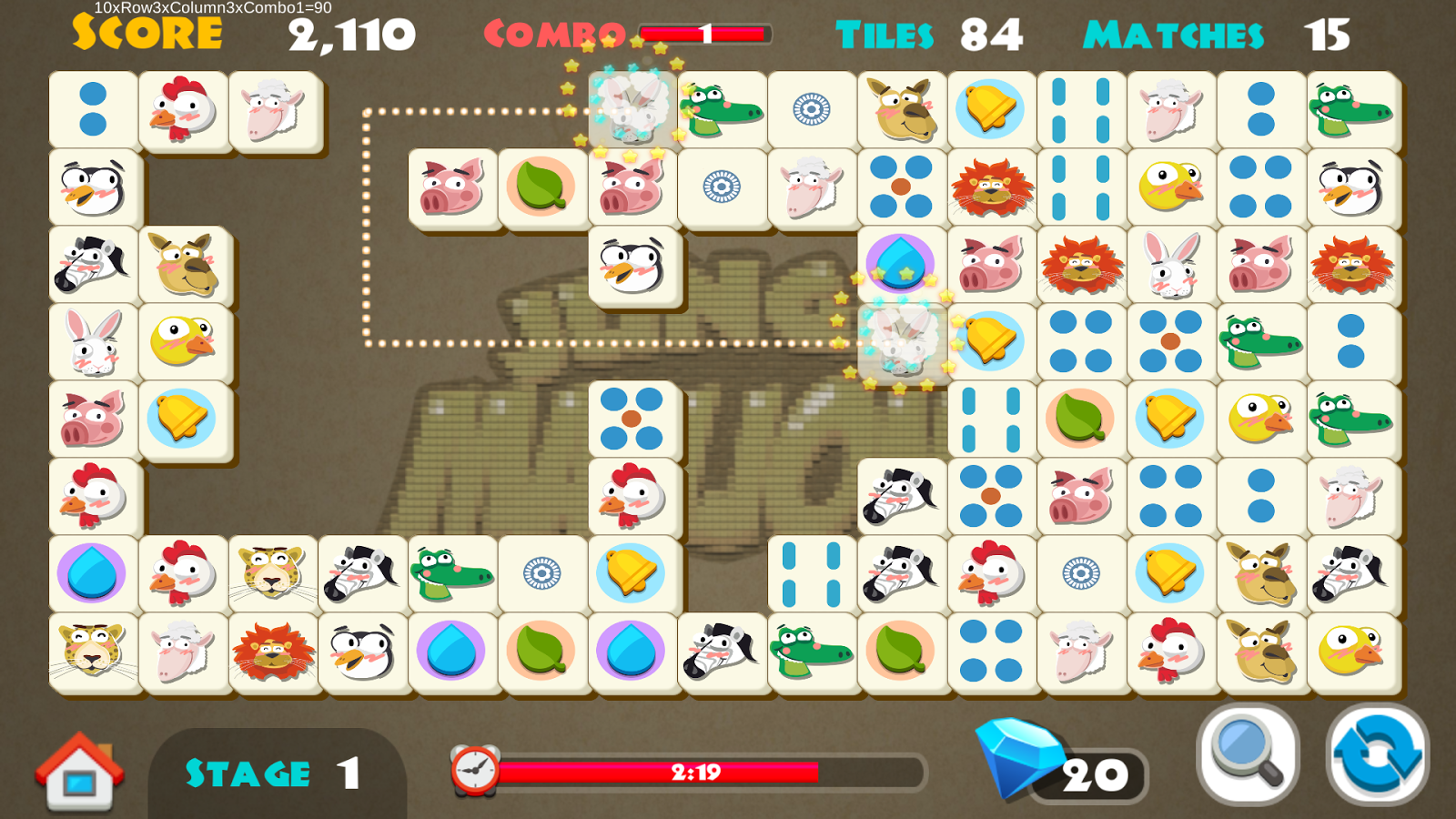 free mahjong connect 2