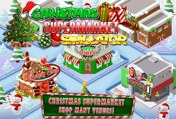 Supermarket Christmas Grocery- screenshot thumbnail