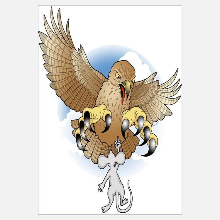 Image result for mouse and eagle a final act of  cartoon