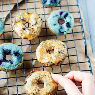 Wild Blueberry Mini Donuts (Dairy Free, Gluten Free) Recipe