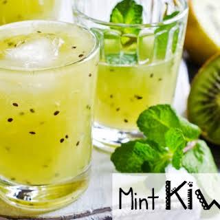 Mint Kiwi-Ade (AKA Mint Kiwi Lemonade for the Uninitiated).