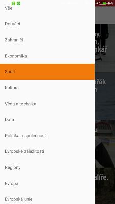 Zprávy – Český rozhlas - screenshot