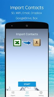 SA Contacts Screenshot