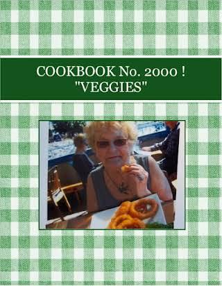 "COOKBOOK    No. 2000 !  ""VEGGIES"""
