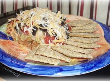 """""""Game Day"""" 7 Layer Taco Dip"""