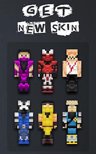 Skins Mortal Kombat Für MCPE Apps Bei Google Play - Wie installiert man skins fur minecraft