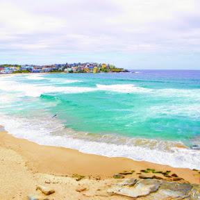 【世界の絶景】オーストラリア 、シドニーのサーファーのメッカ「ボンダイビーチ(Bondi Beach)」