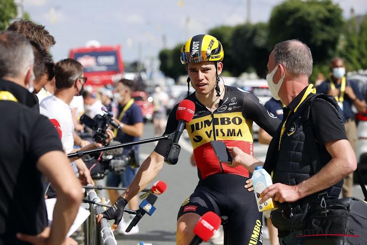 Van Aert in top tien in eerste sprint en rekent op teams van Sagan en Matthews om snel nieuwe kans te krijgen