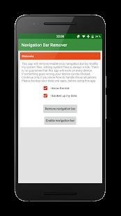 Navigation bar remover/activator (root) - náhled