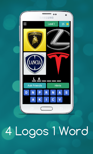4 Logos 1 Word - Can you guess all the logos ? android2mod screenshots 1