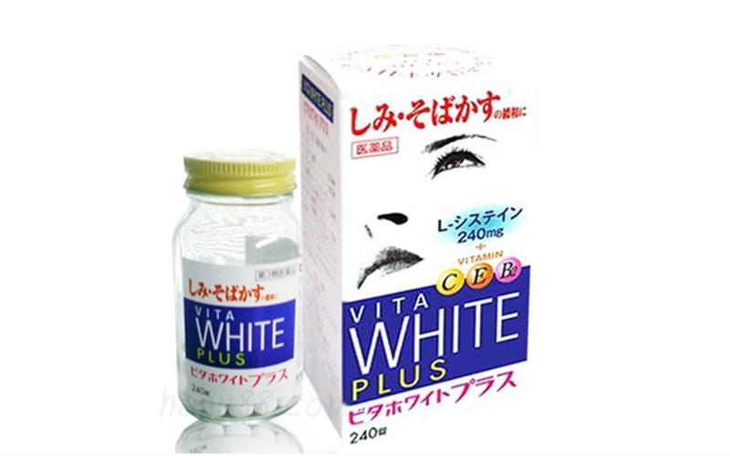 Viên uống trắng da trị nám Vita White Plus