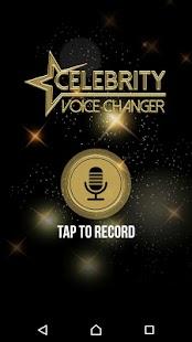 Celebrity Voice Changer – Funny Sound Recorder - náhled