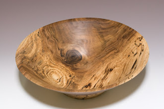 Photo: Tim Aley (inside of english walnut bowl)