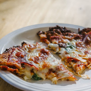 Awesome Cauliflower Pizza Crust