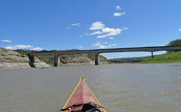 Photo: Fred Robinson Bridge (US Hwy 191) at James Kipp RA - RM 148.8