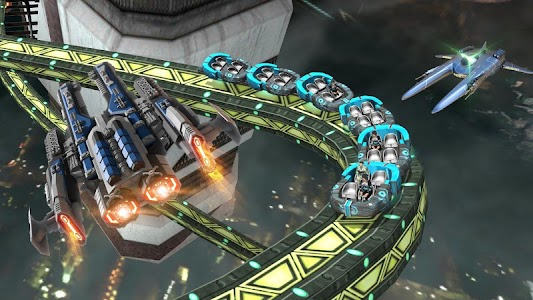 Roller Coaster Simulator Space v1.3 Unlocked